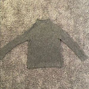 American Eagle Outfitters Cowl Neck Sweater - Grey